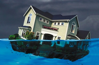 9.7 Million Homeowners Underwater