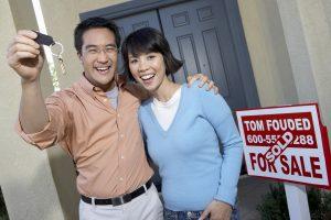 Asian homeowner