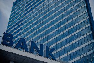 bank glass