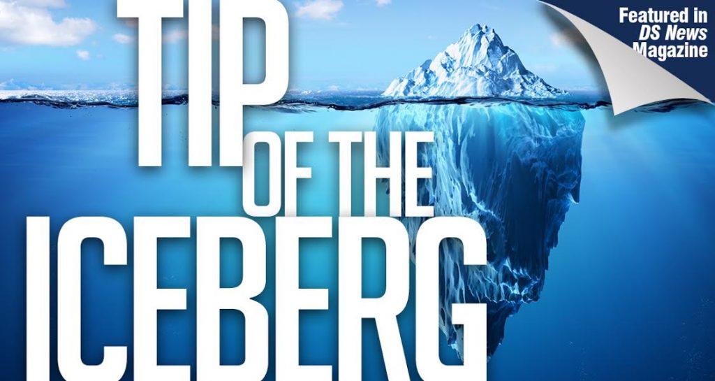 tip of the iceberg art