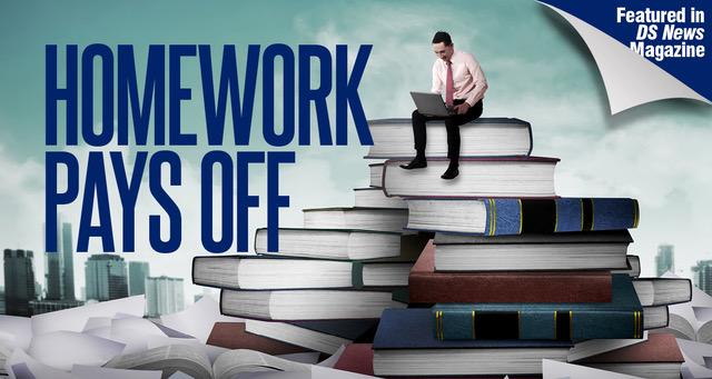 Homework pays off