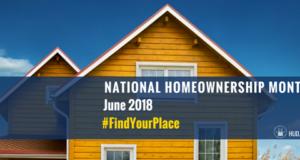 National Homeownership Month 2018