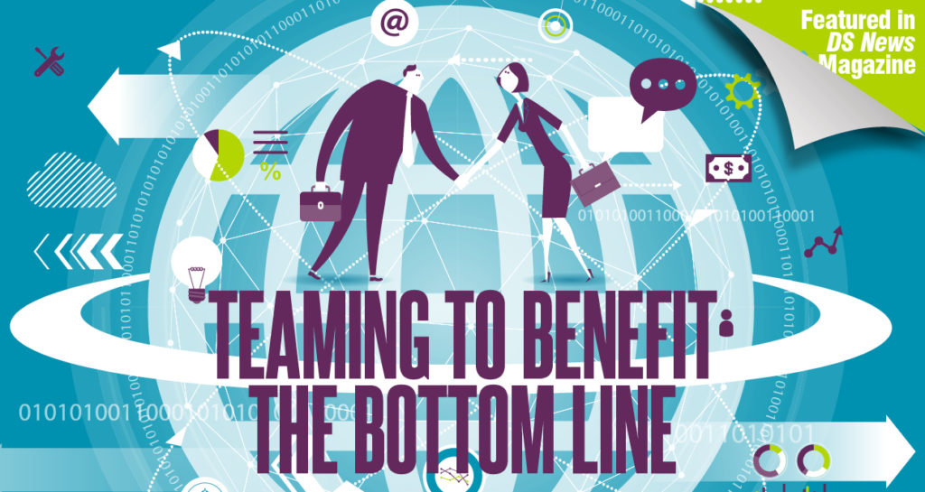 teaming to benefit the bottom line