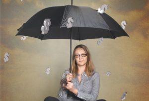 raining money credit risk