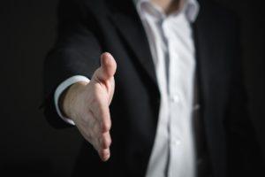 handshake, hiring