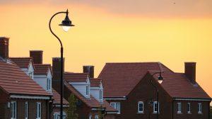 house dusk